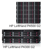 HP LeftHand P4000 G2 SAN Solutions