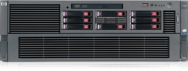 HP Integrity rx3600 server