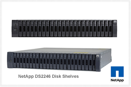 NetApp DS2246 Disk Shelves