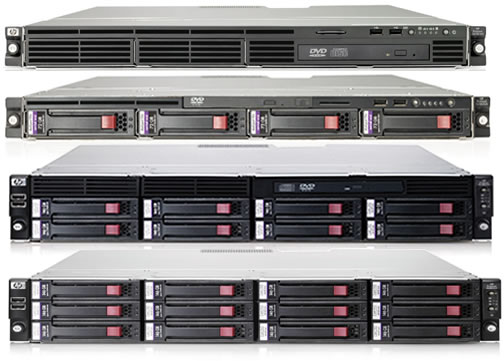 HP ProLiant DL series servers