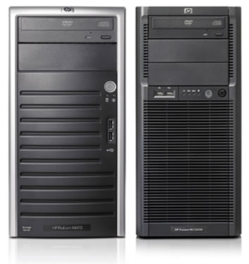 HP ProLiant ML series servers