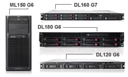 HP ProLiant Entry Level servers