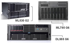 HP ProLinat High-end servers