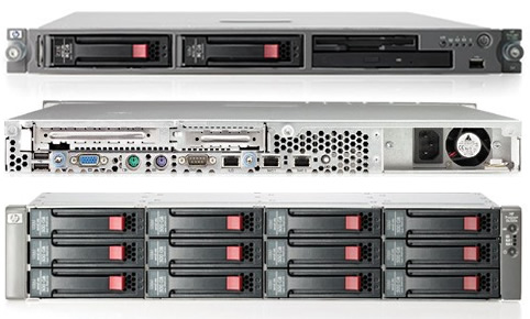 HP ProLiant mid-range DL Series Servers