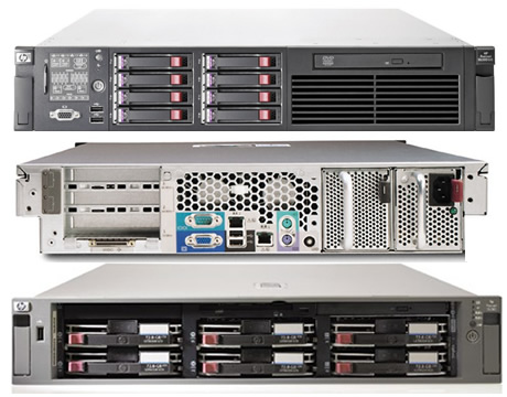 HP ProLiant DL380/385 Series Servers