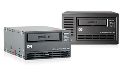 Click here for more HP StorageWorks Ultrium LTO Full-Height Tape Drives