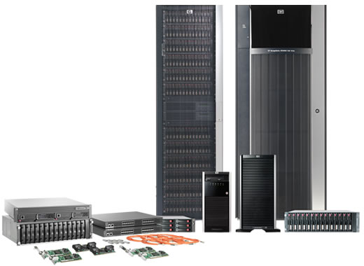 EVA8100 and other HP Storage Works